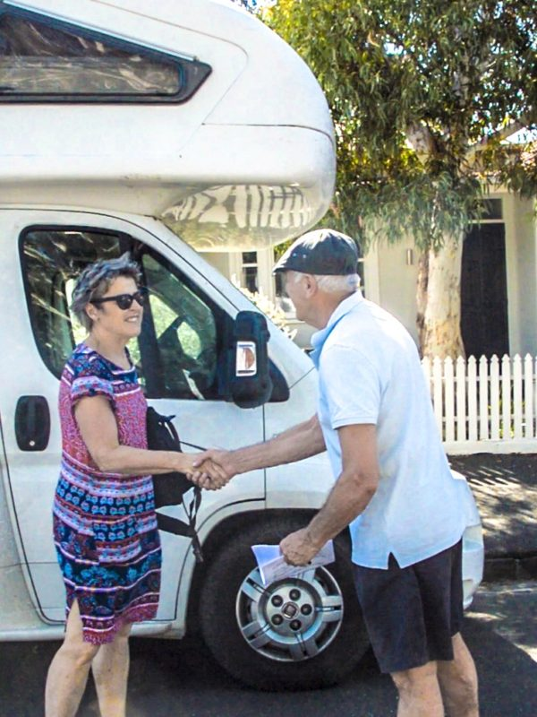 renting out motorhome
